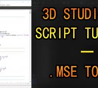 3dsMax脚本解码教程:MSE 2 MS