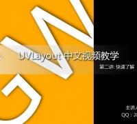 UVLayout 完全免费中文教学