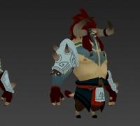 巨兽战争Gigantic 角色模型