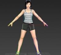 Kokoro 可愛女郎 運動裝女孩