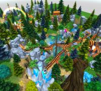 Unity资源系列之实森林矿场,有特效,有动画,火炉的风箱都带动画