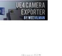 3ds max >UE4 camera exporter
