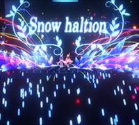 讓我們一起在冰中舞蹈吧!(snow haltion)