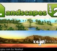 unity3d 地形包2 Landscapes Part 2