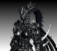 Xzero福利_洛英女黑暗騎士帶CS,免費拿去玩。。