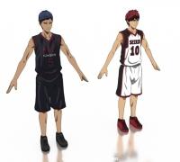【小福利首发】黑子的篮球,青峰火神免费分享~期待后续角色吧。。