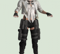 【子弹时间】恶魔可能哭,正统DMC5,蕾蒂(Lady)