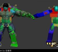 CAT肌肉系统实例讲解11.12--11.15  MAX骨骼奥秘继续热力更新!