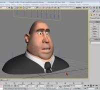 max 表情动画 配套教程 一