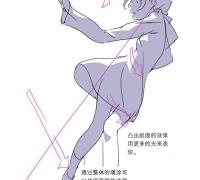 人体动态与光影表现分析 中文版