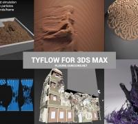 TYFLOW中文英文教程  max超强插件