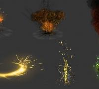 角色扮演特效技能 RPG-FPS Fx Pack