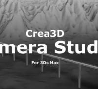 Crea3D_Camera_Studio_v1.0 多个参考摄像机运动路径无缝运动插件