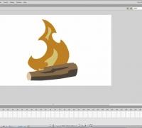 2D Flash 手绘教程(火、雷、烟、雾等)第三课