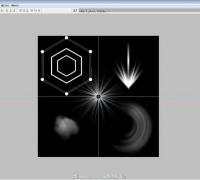 简简单单学特效贴图系列第5集 刀光 枪口火花 放射线等贴图的绘制