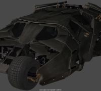 用CINEMA 4D制作蝙蝠侠战车,C4D从建模到渲染详细教程(包含工程文件)