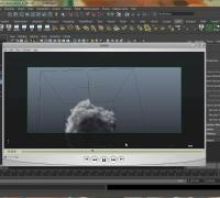 Maya云雾流体粒子特效制作视频教程3
