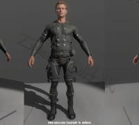 【云遮月美术】承接:次时代角色场景|3D手绘|3D动作|VR|三渲二等