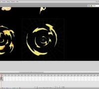 2D Flash 手绘教程(火、雷、烟、雾等)第二十五课