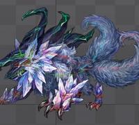 日式暗黑系怪物合集 spine切片骨骼动画