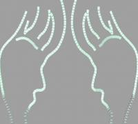 多米諾骨牌鏡子畫
