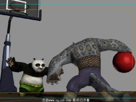 功夫熊猫第二弹——打篮球~