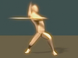 个人作品临摹-醉剑