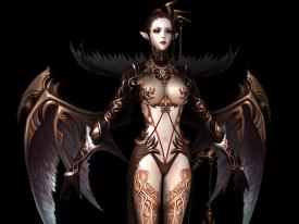 黑暗女精灵模型