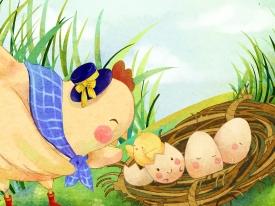 北京华文盛世教育发展有限公司 儿童绘本设计系列全套 《小蛋壳的故事》